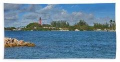 7- Jupiter Lighthouse Beach Towel