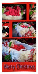 Merry Christmas Beach Sheet by Ivete Basso Photography