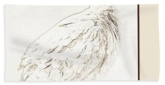 Mourning Dove, Animal Portrait Beach Sheet by A Gurmankin