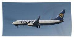 Ryanair Boeing 737-8as  Beach Towel