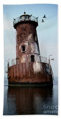 Sharps Island Lighthouse Beach Towel