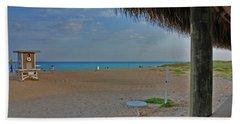 Beach Sheet featuring the photograph 7- Southern Beach by Joseph Keane