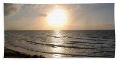 Sunset At Jaffa Beach 10 Beach Sheet