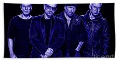 U2 Collection Beach Towel by Marvin Blaine