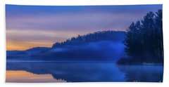 Winter Dawn Beach Towel