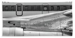 707 Nacelle And Fuselage Beach Towel