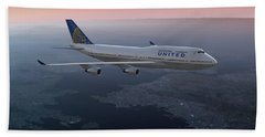 747twilight Beach Towel