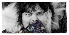 7849bwc Beach Towel by Mark J Seefeldt