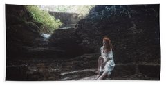 Beach Towel featuring the photograph Aretusa by Traven Milovich