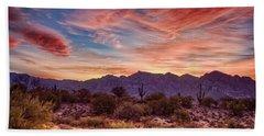 Arizona Sunset Beach Towel