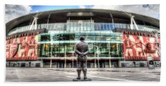 Arsenal Fc Emirates Stadium London Beach Sheet