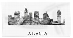 Atlanta Georgia Skyline Beach Sheet