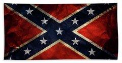 Confederate Flag 9 Beach Sheet