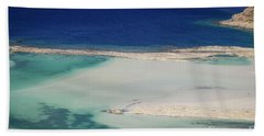 Beach Towel featuring the photograph Crete by Milena Boeva