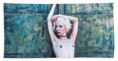 Beach Towel featuring the photograph Kelevra by Traven Milovich