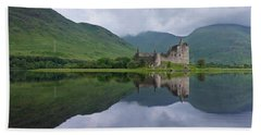Kilchurn Castle Beach Towel