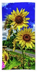 Sun Flower Beach Sheet