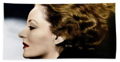 Beach Towel featuring the photograph Tallulah Bankhead by Granger