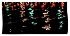 Beach Towel featuring the photograph The Colors Of The Voyage by Mark Dodd