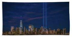 9/11 Memorial Beach Towel