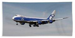 Air Bridge Cargo Boeing 747-8f Beach Towel