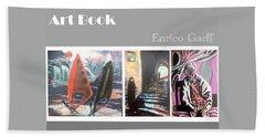 Art Book Beach Sheet