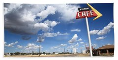 Route 66 Cafe Beach Towel