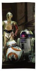 Star Wars Episode Vii - The Force Awakens 2015 Beach Towel