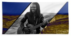 Tracy Chapman Collection Beach Towel by Marvin Blaine