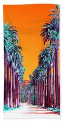 90210 Pop Art Beach Towel