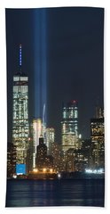 9.11.2015 Tribute In Light Beach Towel