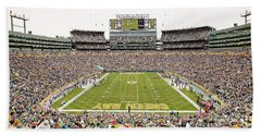 9993 Lambeau Field Beach Towel