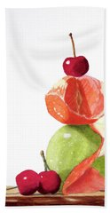A Balanced Meal Beach Towel