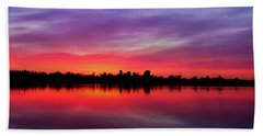 Sunrise At Sloan's Lake Beach Towel