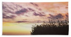 A Beautiful Morning Sky At 06:30 This Beach Towel