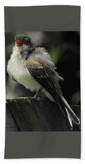 A Bird With An Attitude Beach Sheet