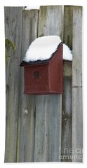 A Birdhouse To Live In Beach Sheet