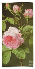 A Branch Of Roses Beach Towel