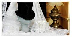 A Bridal Scene Beach Sheet