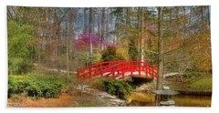 A Bridge To Spring Beach Towel