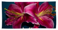 A Bunch Of Beauty Floral Beach Towel