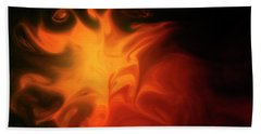 A Burning Passion Beach Towel