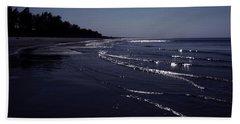 A Calm Evening Beach Towel
