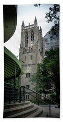 A Charlotte Church Tower Beach Sheet