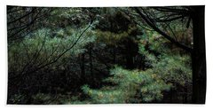 Beach Towel featuring the photograph A Clearing In The Wild by Kenneth Campbell