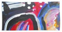 A Colorful Path Beach Towel