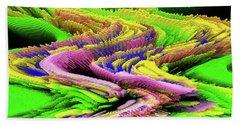A Colorful Series Beach Sheet