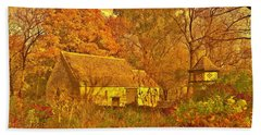 A Cotswald Fall  Beach Sheet by Daniel Thompson