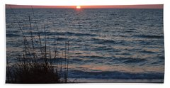 A Country Sunset Beach Towel