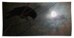 A Crow Moon Beach Sheet